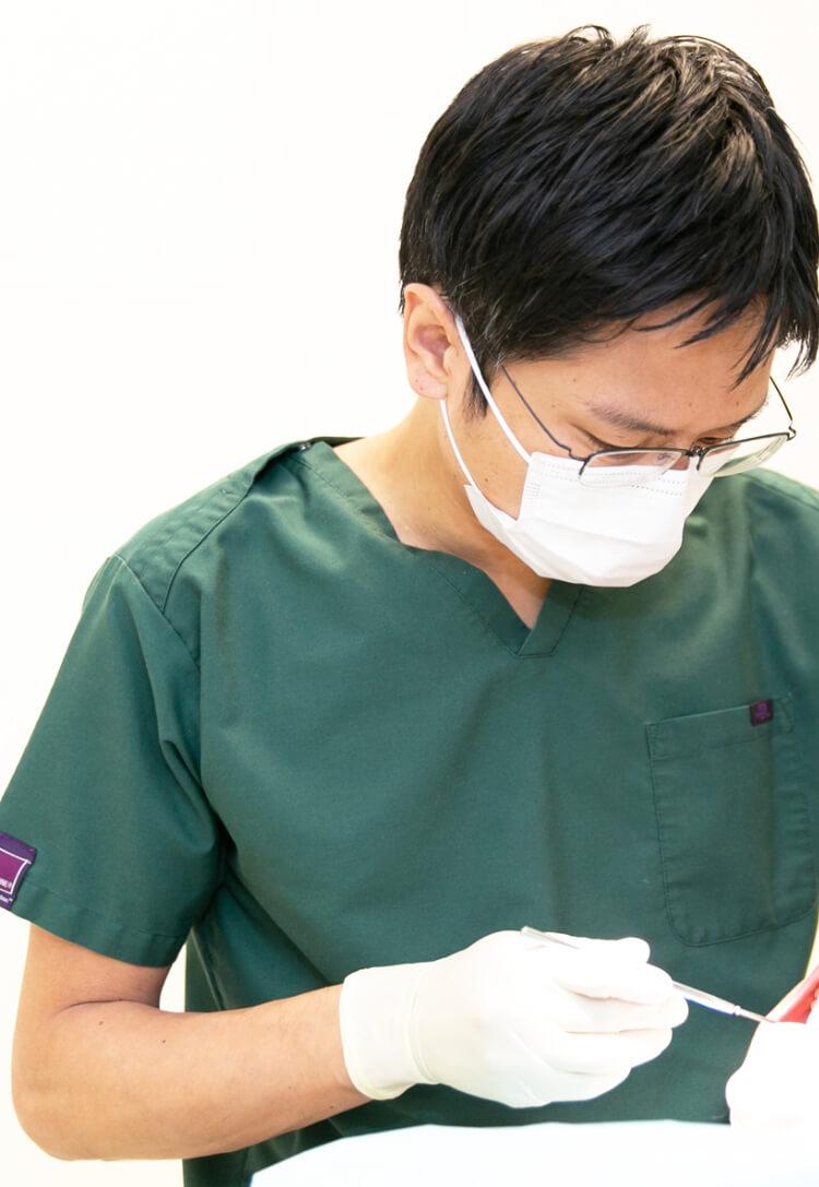 通いやすいから、治療を続けられる幅広い対応力と真心で、お口の健康維持・向上をお手伝いします。 YOURS ORAL CLINIC